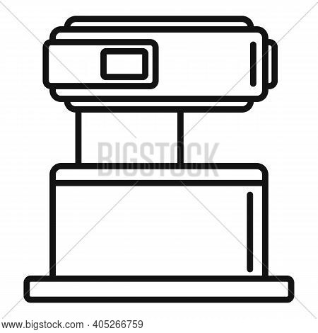 Modern Magnetic Resonance Imaging Icon. Outline Modern Magnetic Resonance Imaging Vector Icon For We