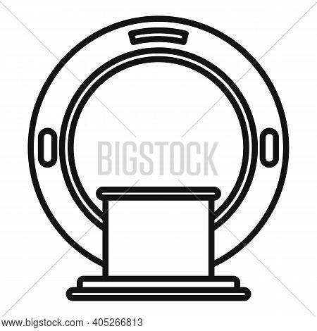 Magnetic Resonance Imaging Diagnostic Icon. Outline Magnetic Resonance Imaging Diagnostic Vector Ico
