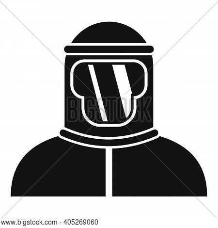 Biohazard Costume Icon. Simple Illustration Of Biohazard Costume Vector Icon For Web Design Isolated