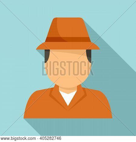 Investigator Icon. Flat Illustration Of Investigator Vector Icon For Web Design