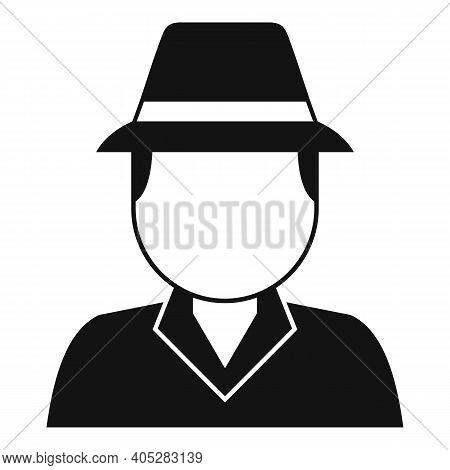 Investigator Icon. Simple Illustration Of Investigator Vector Icon For Web Design Isolated On White