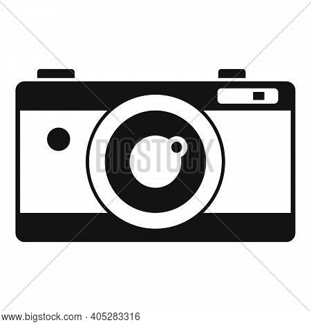 Investigator Camera Icon. Simple Illustration Of Investigator Camera Vector Icon For Web Design Isol