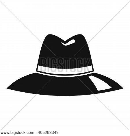 Investigator Hat Icon. Simple Illustration Of Investigator Hat Vector Icon For Web Design Isolated O