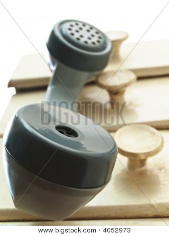 Telephone Handset Hang Over The Drawers