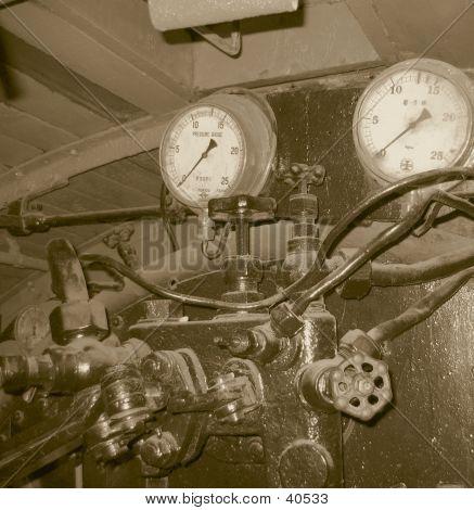 Vintage Steam Engine