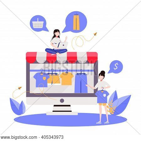 Brand Or Product Promotion With Blogger Recommendation, Marketing Campaign In Social Media, Women Cl