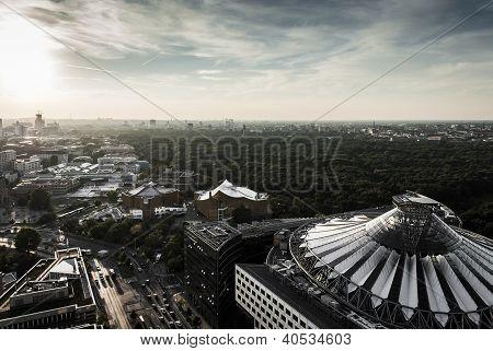 Panoramic View Of Berlin