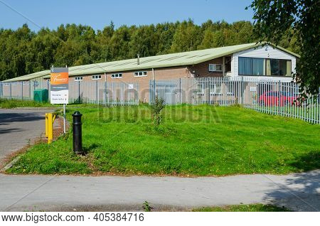 Flint, Flintshire; Uk: Sept 17, 2020: The Premises Of Russell Bio Solutions Who Are Biorational Crop
