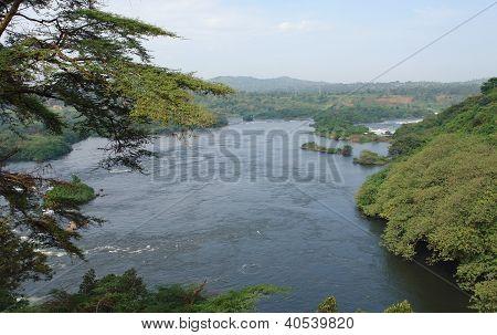 Around Bujagali Falls In Africa