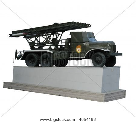 Bm-13 Katyusha Multiple Rocket Launcher