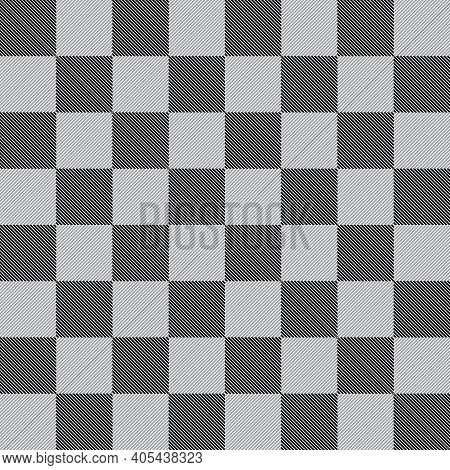 Chess Like Table Diagonals Abstract Black Gray On Transparent Background Designer Cut