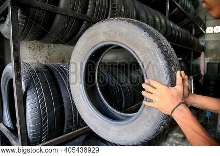 Tires Used In Tire Repair