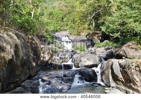 Nang Rong Waterfall, Nakhon Nayok, Thailand