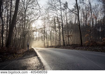 A Nice Picture Of A Road View , A Nice Photo