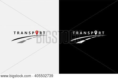 Modern Transport Vector Symbol Logo Design Illustration. Usable For Business, Community, Foundation,