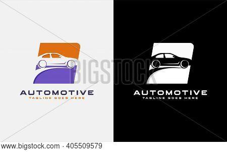 Automotive Car Logo Design. Usable For Automotive, Business, Community, Foundation, Tech, Services C