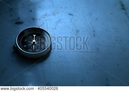 A Compass Is An Instrument Used For Navigation And Orientation That Shows Direction Relative To The