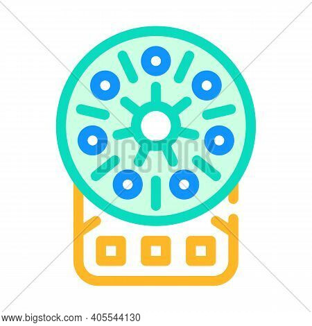 Centrifuge Laboratory Equipment Color Icon Vector Illustration