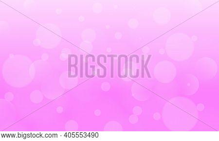 Spring Purple Bokeh Background. Design For Banner, Flyer, Website Header, Postcard. Spring Holiday A