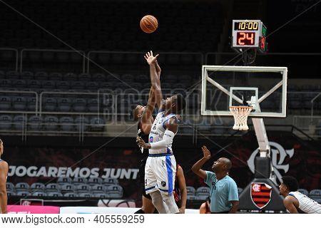 Rio, Brazil - January 28, 2021  Paranhos Of Unifacisa During The Men's New Brazilian Basketball (nbb