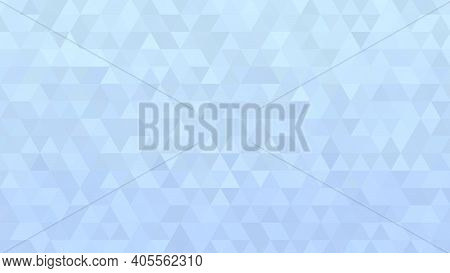 Light Blue Low Poly Textured Background, Pastel Color