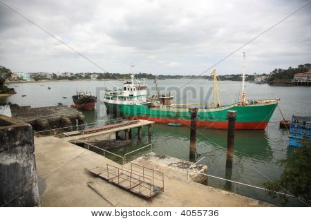 Mombasa Old Town Harbour