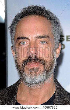 LOS ANGELES - DEC 6:  Titus Welliver arrives at the 'Promised Land' Premiere at Directors Guild of America on December 6, 2012 in Los Angeles, CA