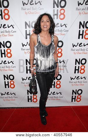 LOS ANGELES - DEC 12:  Terri Ivens arrives to the NOH8 4th Anniversary Party at Avalon on December 12, 2012 in Los Angeles, CA
