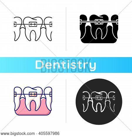 Orthodontics Icon. Total Orthodontics. Instruments For Dental Treatment. Family Orthodontics. Dental
