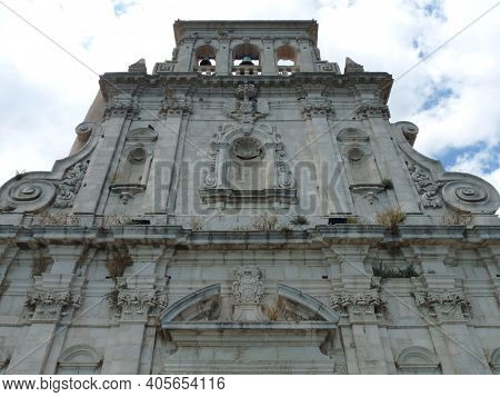 Cathedral Of Syracuse Or Siracusa, A Historic City In Sicily, Italy