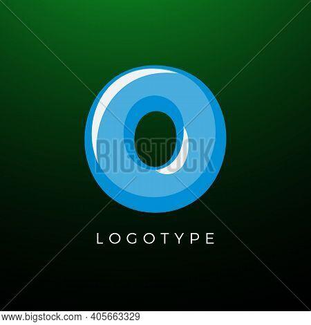 3d Playful Letter O, Kids And Joy Style Symbol For School, Preschool, Comic Book, Kids Zone Decorati