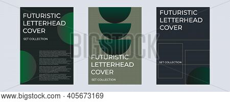 Deconstructed Postmodern Inspired Artwork Of Vector Abstract Symbols With Bold Geometric Shapes, Use
