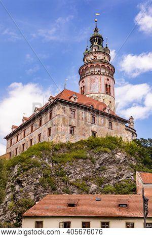 Castle Cesky Krumlov (unesco Heritage), Czech Republic