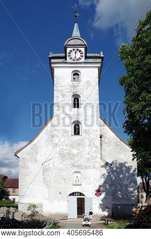 The Roman Catholic Church Of The Holy Trinity In Kuldiga (latvia, Europe)