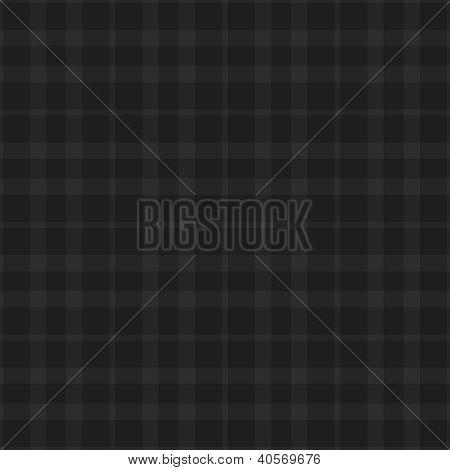 Seamless Black & Grey Plaid