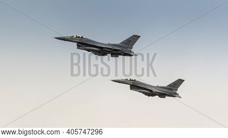 Usaf F16 Fighter Aircraft Pair