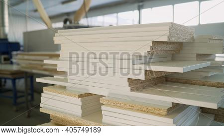 Joiner's Shop. Wooden Blanks For Furniture. Furniture Repair. Furniture Workshop. Blanks For Wooden