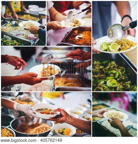 Charity Food For The Poor And The Homeless : Food Concept Of Hope