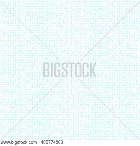 Abstract Seamless Pattern With Different Dotes. Vector Illustration