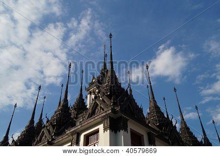 The Pinnacle Pagoda At Lohaprasart