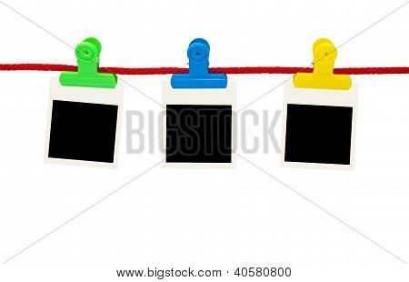 Blank Photo Frames Hanging