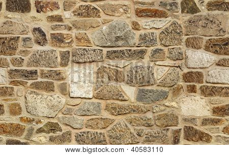 seamless ashlar old stone wall texture background
