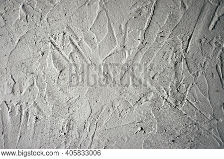 Old Textured Wall Background Ready For Your Design Work. Wall Texture. Plastered Wall Background. Gr