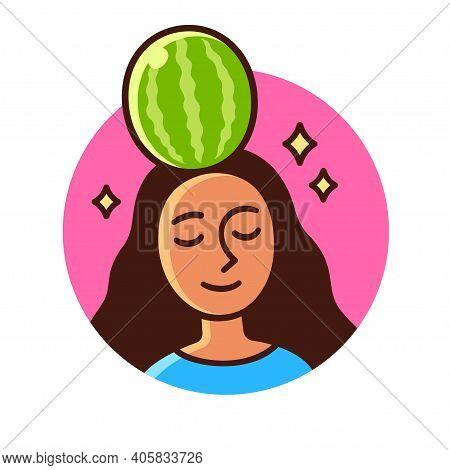 Colocar A Melancia Na Cabeça (put A Watermelon On One's Head In Portuguese) Brazilian Expression For