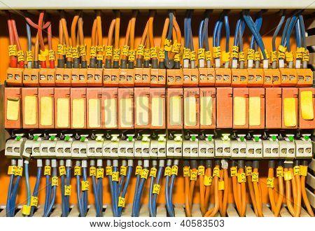 Orange Terminal Blocks