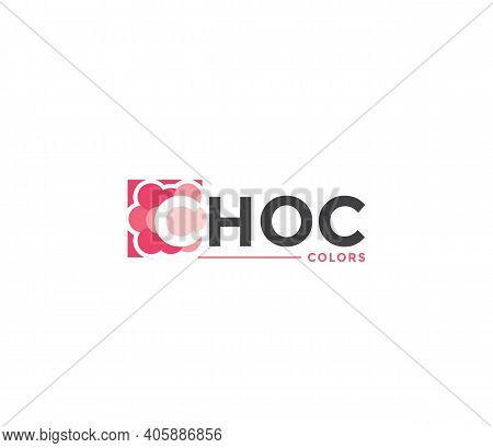 Choc Colors Company Business Modern Name Concept