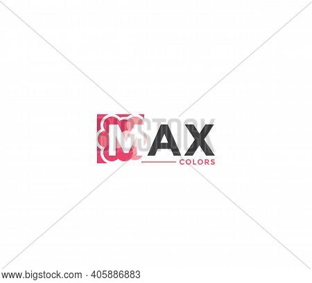 Max Colors Company Business Modern Name Concept