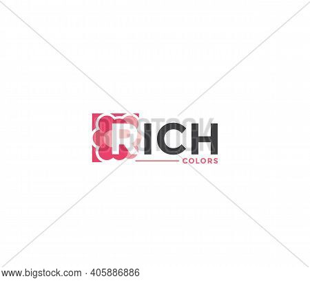 Rich Colors Company Business Modern Name Concept