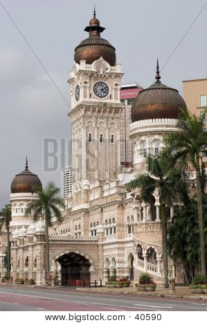 Historical Courthouse In Kuala Lumpur