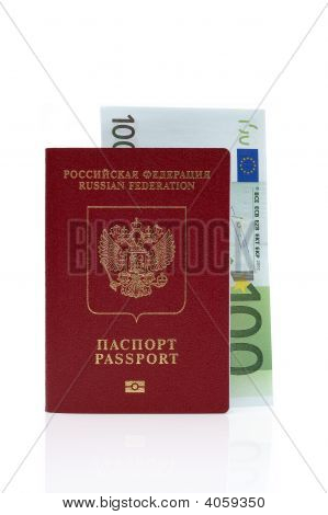 Passport Of Russian Federation And Euro